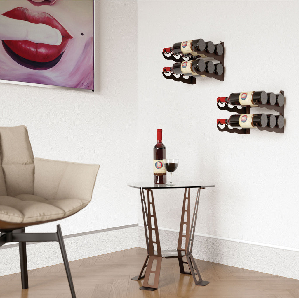 DOUBLE – 6 BOTTLE RACK