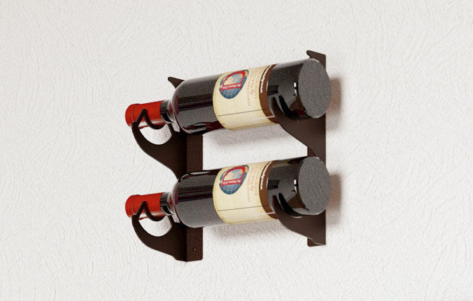 DOUBLE – 2 BOTTLE RACK