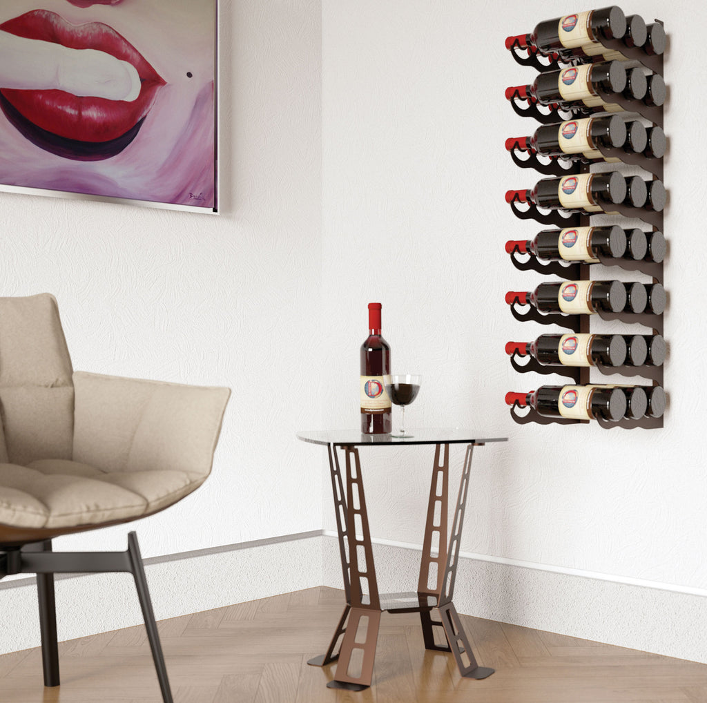 EIGHT – 24 BOTTLE RACK