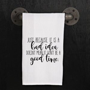 Just because it is a bad idea - Kitchen Towel
