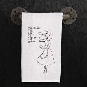 Retro Louise Collection: Sometimes - Kitchen Towel