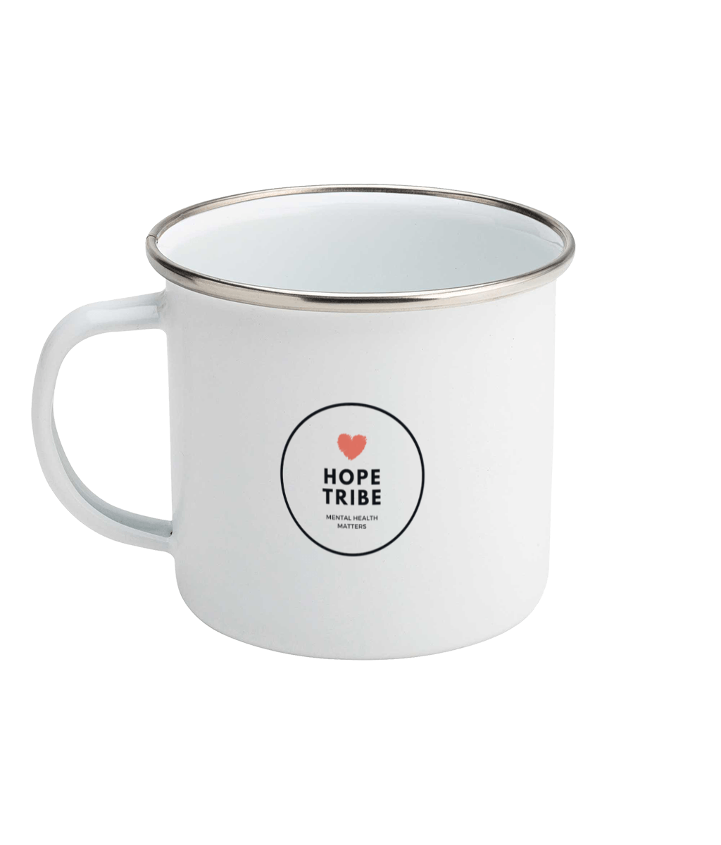 Feel Your Feels Enamel Mug