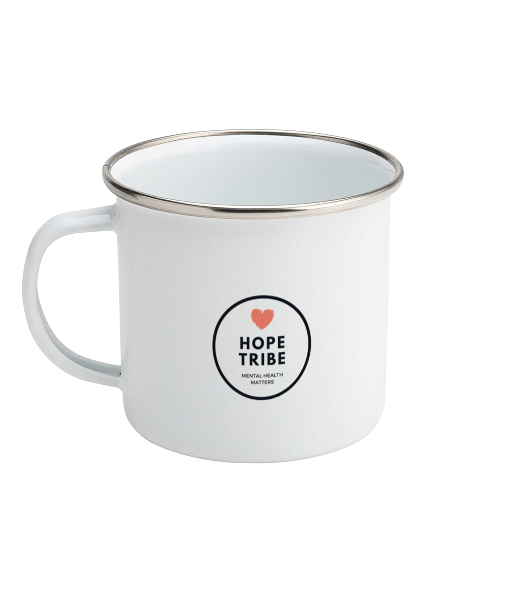 Positivitea Enamel Mug - Hope Tribe Mental Health