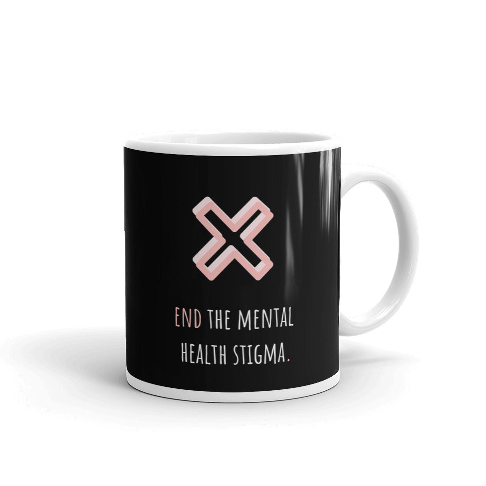 End The Mental Health Stigma Mug - Hope Tribe Mental Health Apparel & Gifts