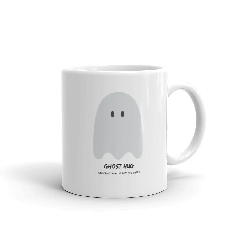 Ghost Hug Mug White - Hope Tribe Mental Health