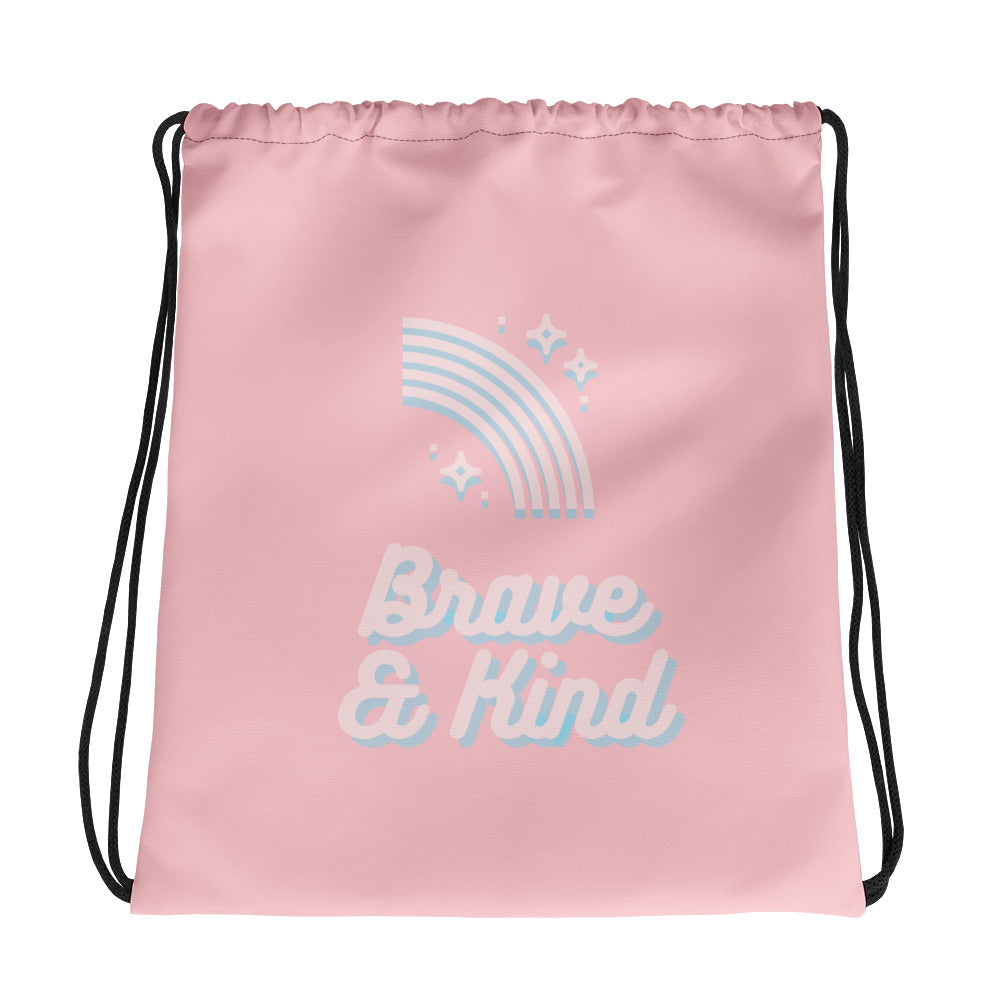 Brave & Kind Gym Bag