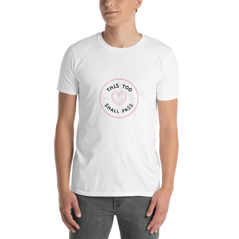 This Too Shall Pass Men's T-Shirt White Hope Tribe Mental Health