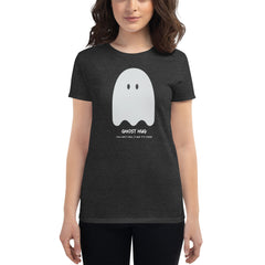 Ghost Hug Fitted T-Shirt