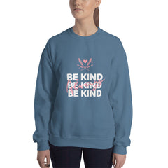 Be Kind Always Women's Sweatshirt Dark Blue - Hope Tribe Mental Health
