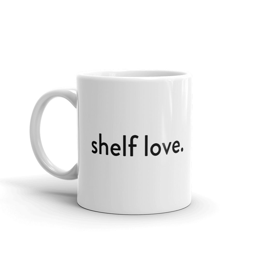 Shelf Help Mug White