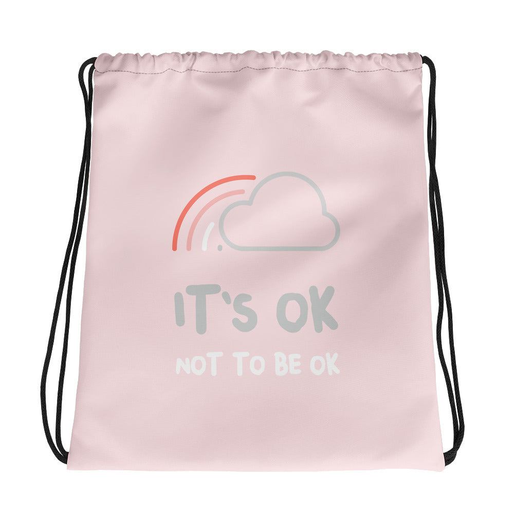 It's Ok Not To Be Ok Gym Bag - Hope Tribe Mental Health
