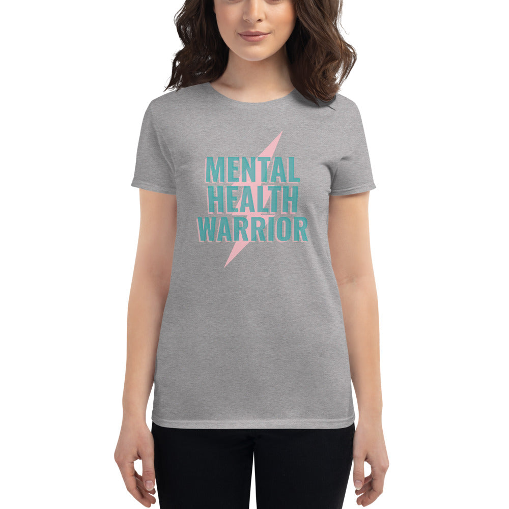 Mental Health Warrior Women's T-Shirt - Hope Tribe Mental Health