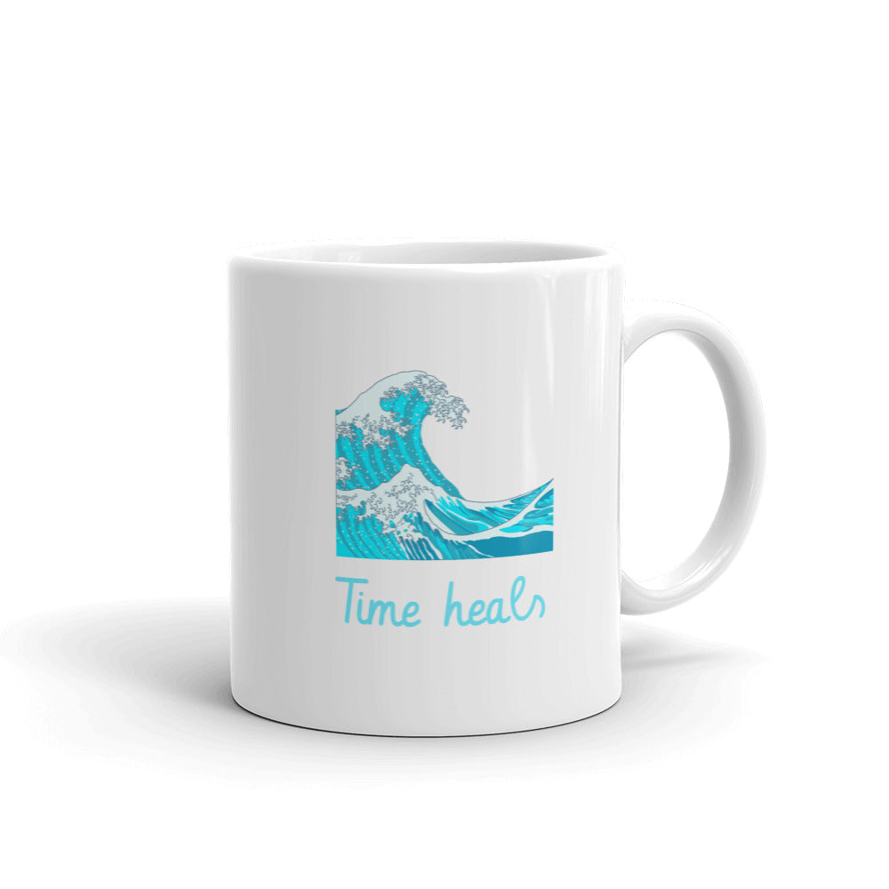 Time Heals Mug - Hope Tribe Mental Health