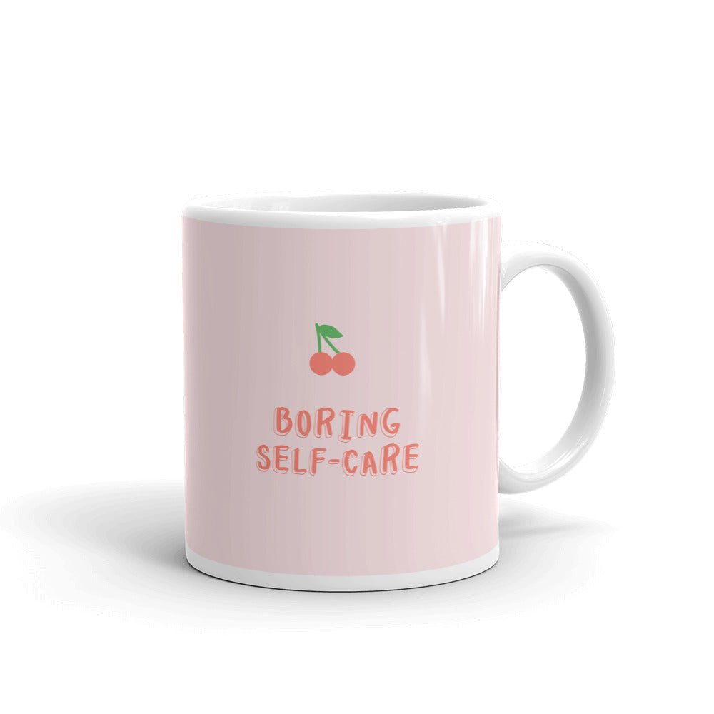 Boring Self-Care Mug - Hope Tribe Mental Health Apparel & Gifts