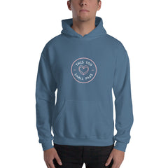 This Too Shall Pass Men's Hoodie Blue  - Hope Tribe Mental Health