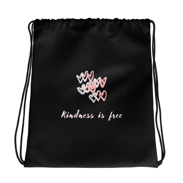Kindness Is Free Gym Bag - Hope Tribe Mental Health