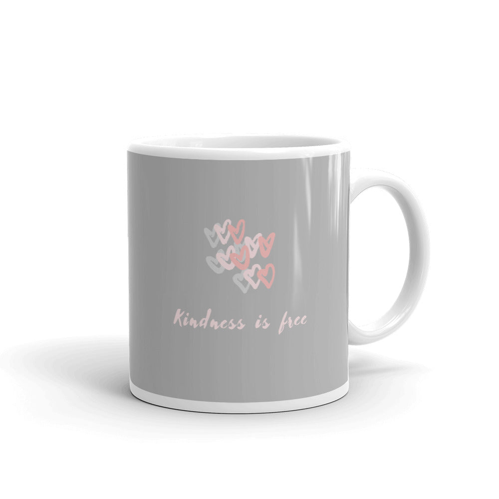 Kindness is Free Mug - Hope Tribe Mental Health