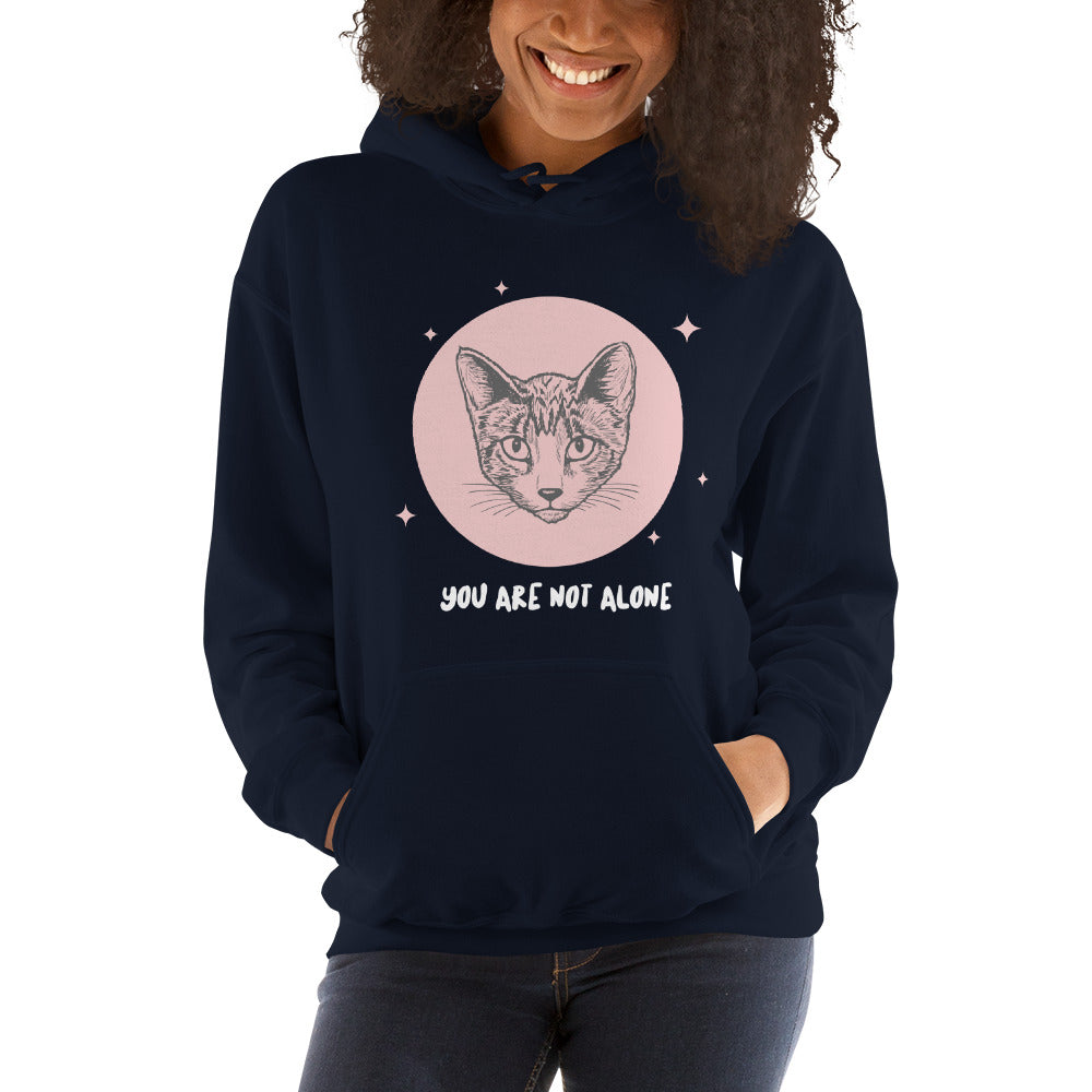 You Are Not Alone Hoodie - Mental Health Awareness Apparel