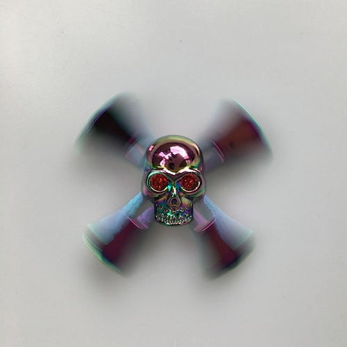 Cool Skull Fidget Spinner