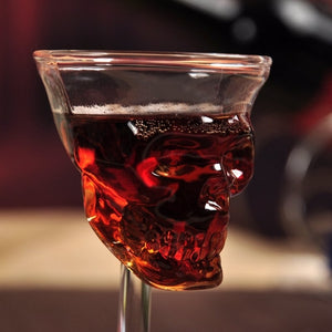 Crystal Skull Glass Cup