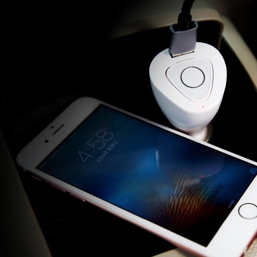 2 in 1 Bluetooth Earphone with Car Charger