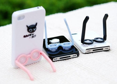 Cute Glasses Phone Stand