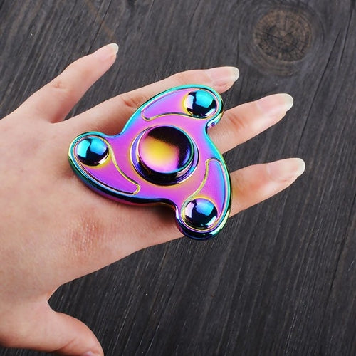 Colorful Hand Fidget Spinner Toy