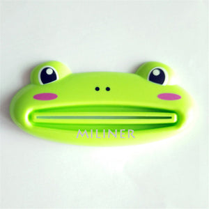 1pcs Cute Animal multifunction squeezer / toothpaste squeezer Home Commodity Bathroom Tube Cartoon Toothpaste Dispenser