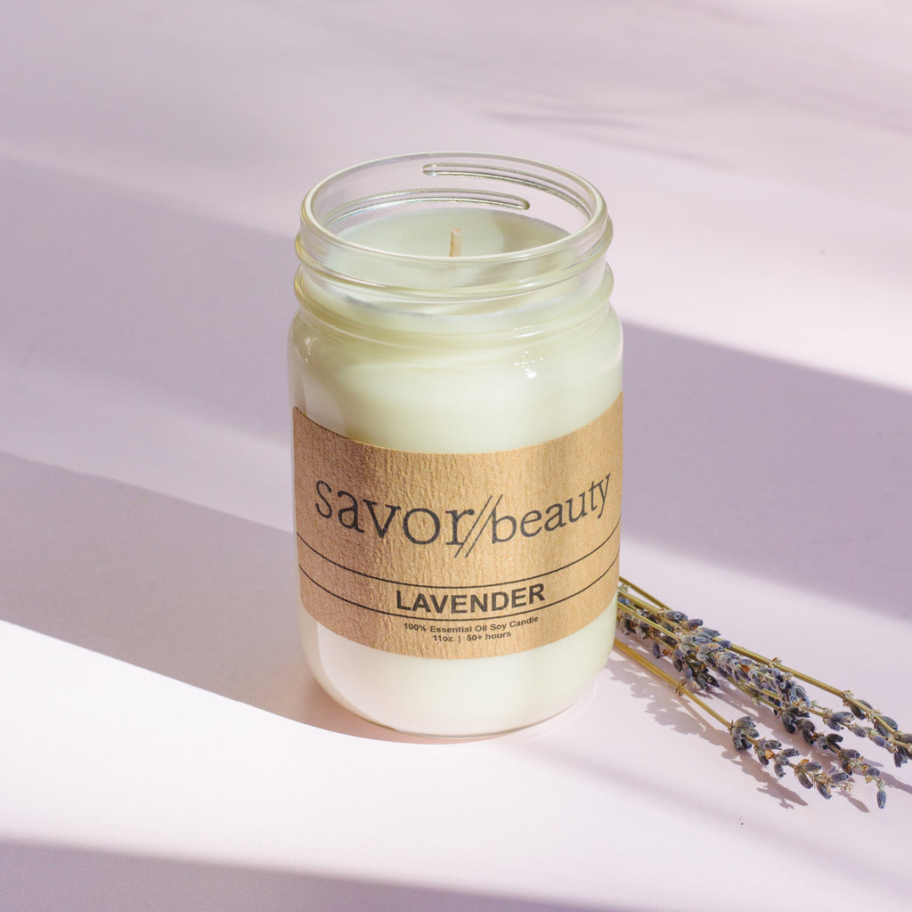 Soy Candle // 100% Essential Oil