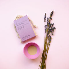 Lavender Milk + Honey Face Cake Mask Mix