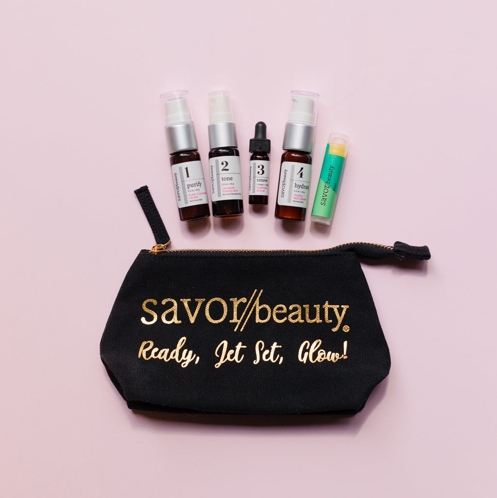 Jet Set Glow Travel Kit