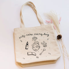 Self-Care Beauty Tote