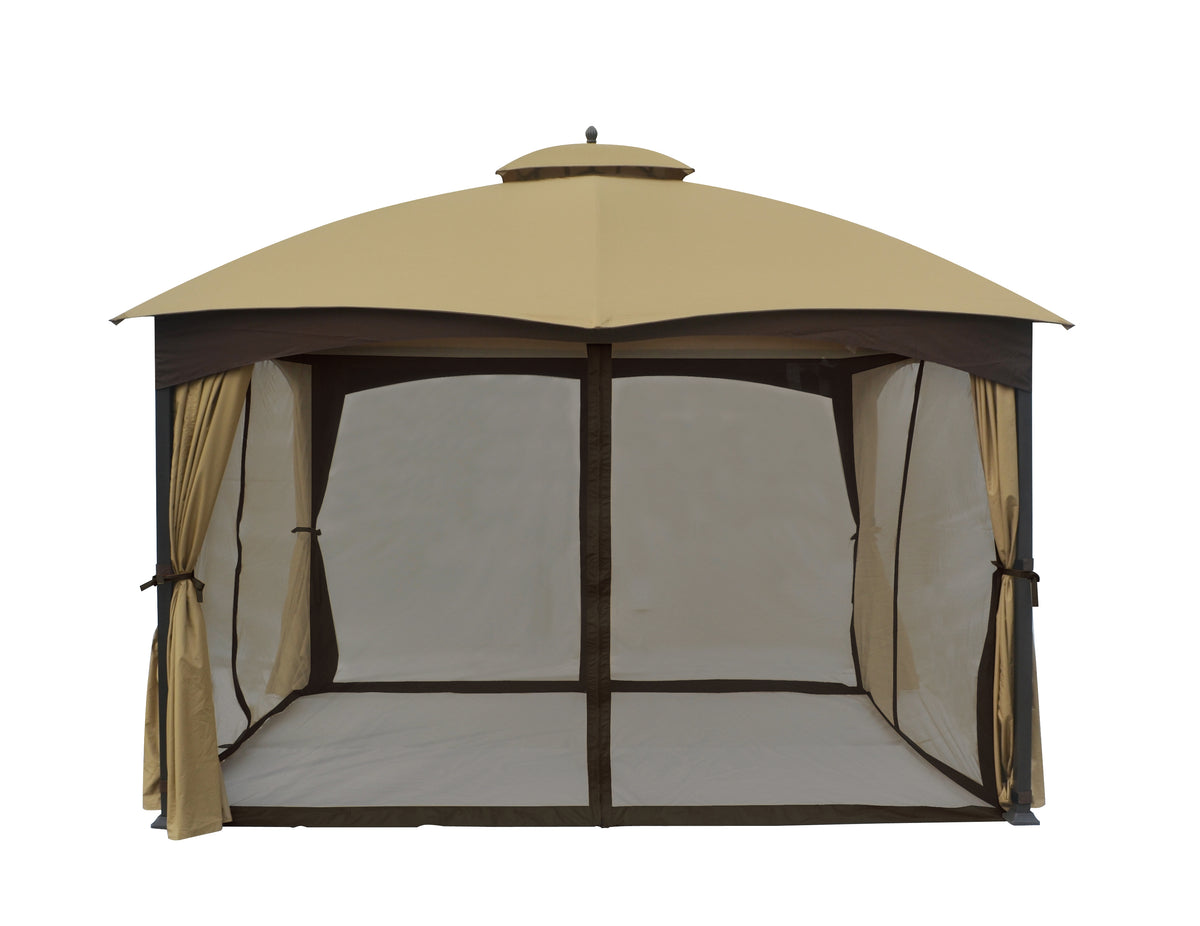 Mosquito Netting And Screen House For Gazebo And Pergola