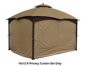 Privacy and Curtain set for Gazebo/ Pergola