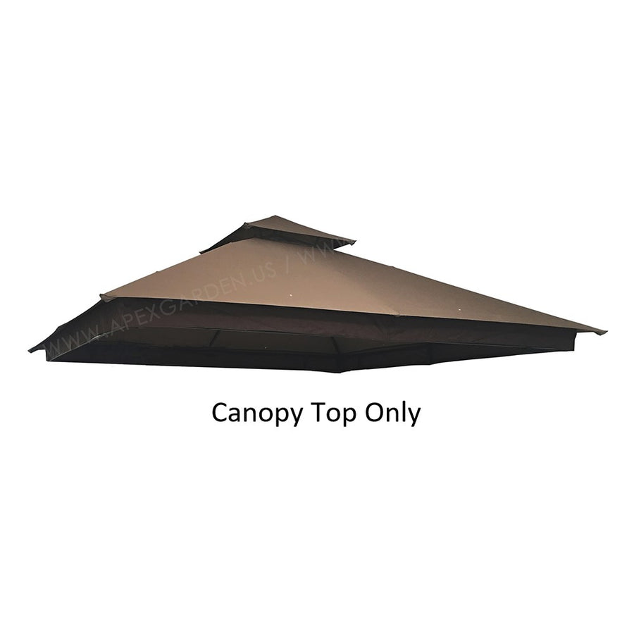 APEX GARDEN Canopy Top for APEX GARDEN 10'x10' Gazebo#GF-20S057B - APEX GARDEN US