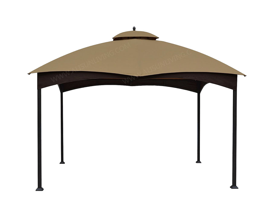 ALISUN Canopy Gazebo Cover Top for Lowe's Allen Roth 12-ft x 10-ft gazebo #TPGAZ17-002C - APEX GARDEN US