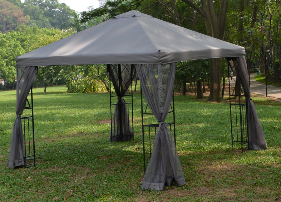 Replacement Canopy Top for APEX GARDEN 10 ft. x 10 ft. Symphony Gazebo#GF-19S067B - APEX GARDEN US