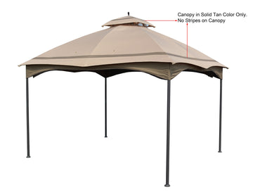 Canopy Gazebo Cover Top for Massillon / Biscayne / Turnberry 10' x 12' Gazebo Model #L-GZ933PST / #L-GZ933PCO-L - APEX GARDEN US