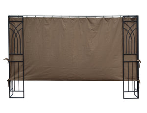 APEX GARDEN Universal 10' Gazebo Privacy Side Panel - APEX GARDEN US