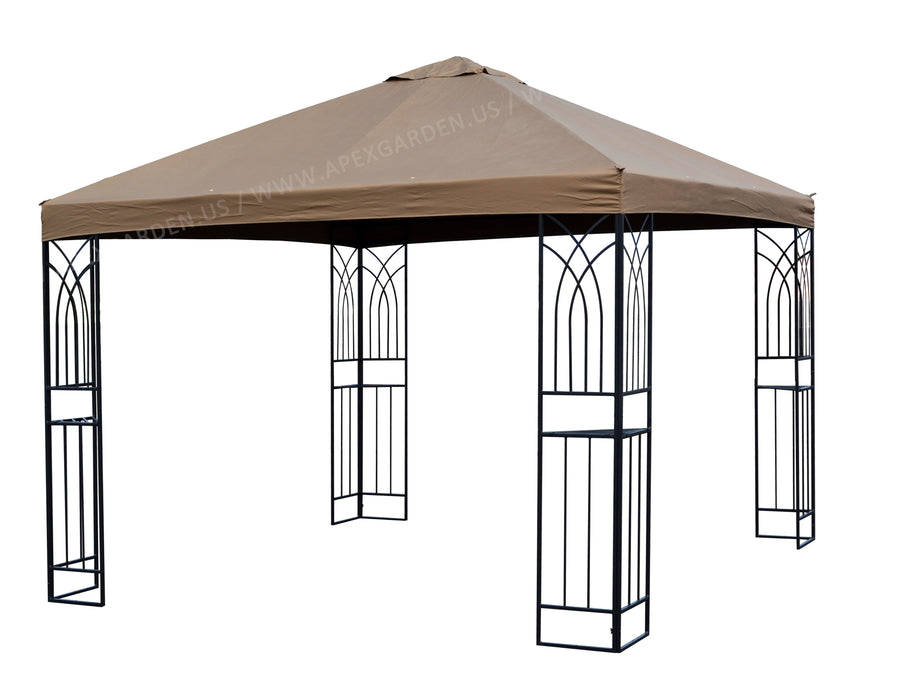 Replacement Canopy Top for APEX GARDEN 10 ft. x 10 ft. Gazebo#YH-20S067 - APEX GARDEN US