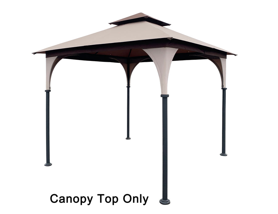 APEX GARDEN Replacement Canopy Top for 8' x 8' Gazebo #L-GZ375PST, L-GZ375PST-3 - APEX GARDEN US