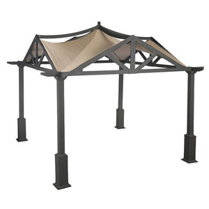 APEX GARDEN Replacement Canopy Top for Lowe's 10 ft x 10 ft Gazebo #GF-9A037X / GF-12S039B - APEX GARDEN US