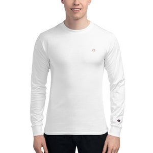 Men's Embroidered Champion Long Sleeve Shirt
