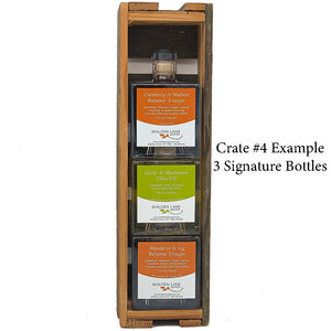 Reclaimed Wood Gift Crates (multiple sizes, products to fill crate sold separately)