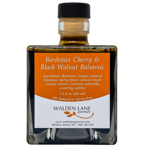 Bordeaux Cherry & Black Walnut Balsamic Vinegar