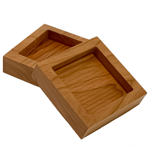 Single Appetizer/Dipping Tray (available in Maple or Cherry)