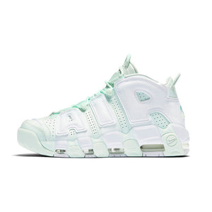 4c24db75cbaa94 NIKE Air More Uptempo 96 Womens Basketball Shoes Mint Green Stability Retro  High Support Sports Sneakers