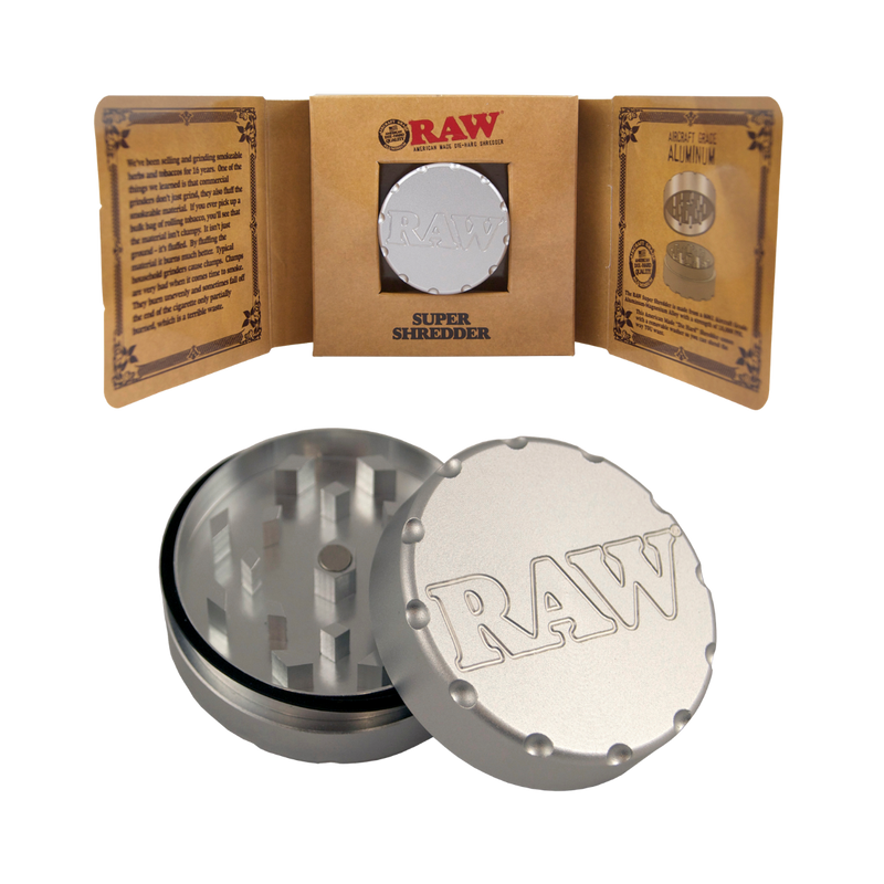 Raw 2 piece Grinder 45mm - The Green Box Australia