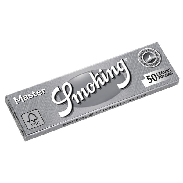 Smoking Silver (Master) Smoking Papers Regular 1 ¼ - The Green Box Australia