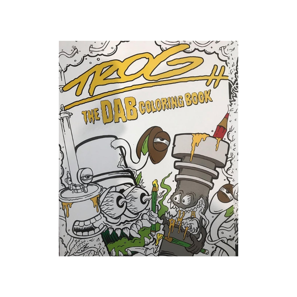 TROG: The DAB Coloring Book - The Green Box Australia (1448209940516)